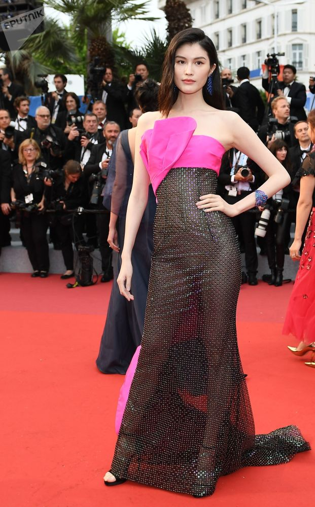 Chinese Actress Sui He During the 72nd Cannes Film Festival in France