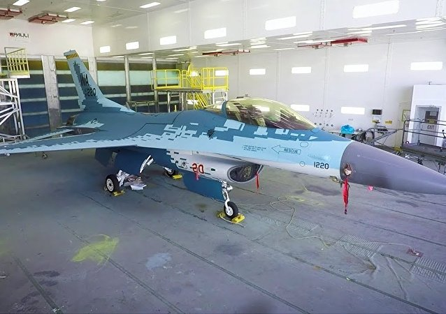 F-16 GHOST - Aggressor Squadron Mimicking Russian Su-57 Paint