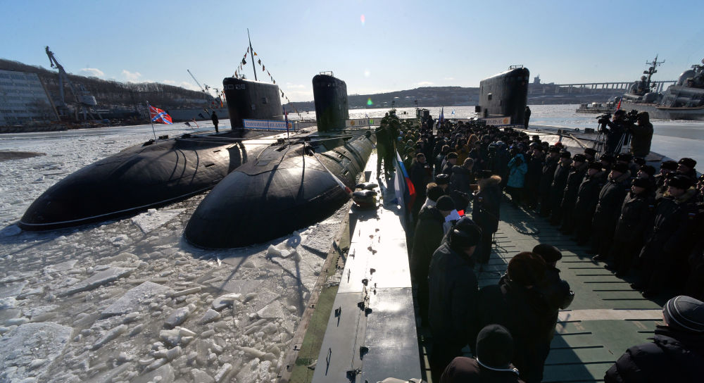 At Sea and on Land: A Look at History of Pacific Fleet in Russia