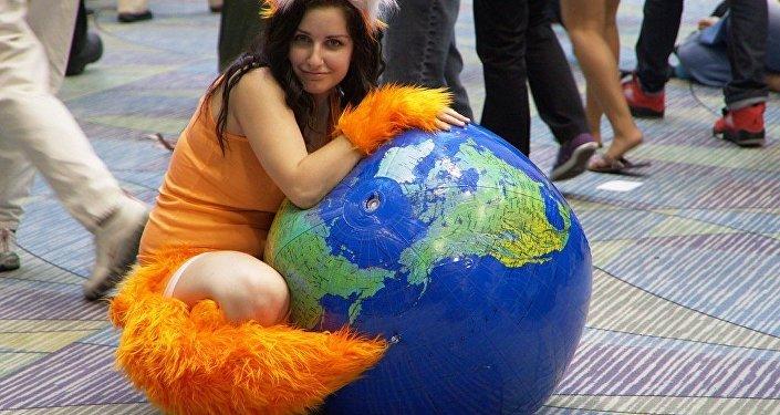 Mozilla Firefox cosplay