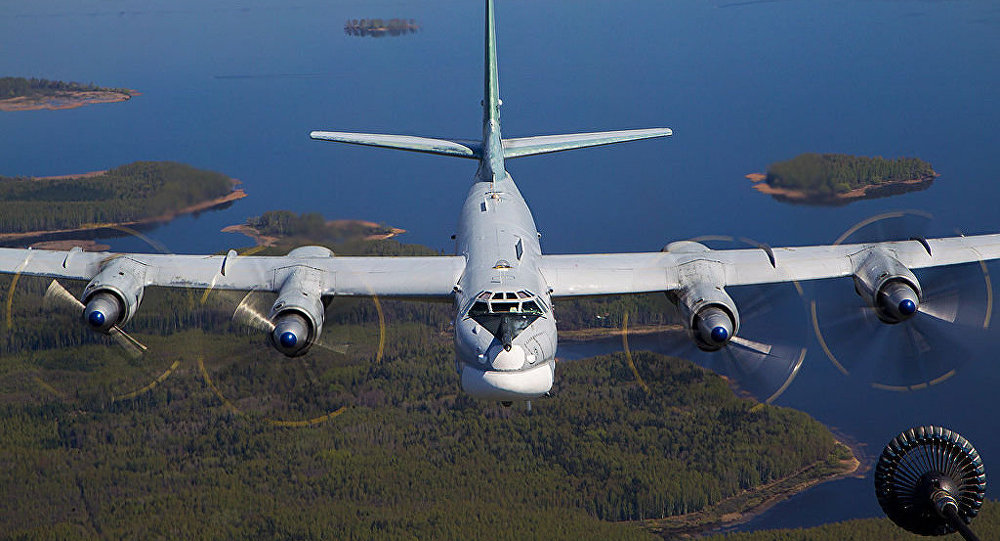 Russian Military Planes Intercepted Off Alaskan Coast