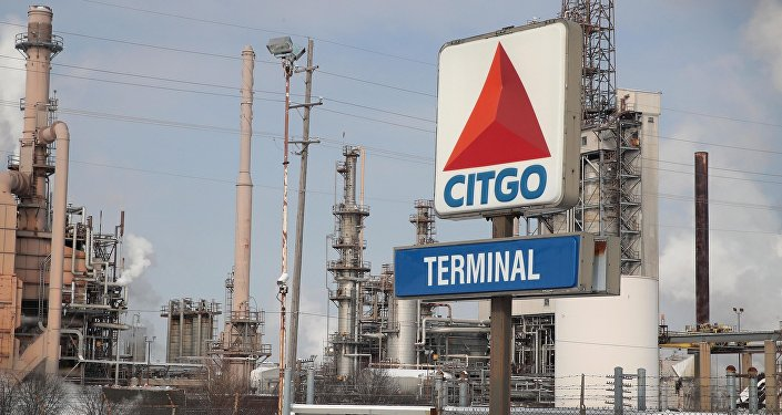 Smoke rises from a refinery owned by Citgo