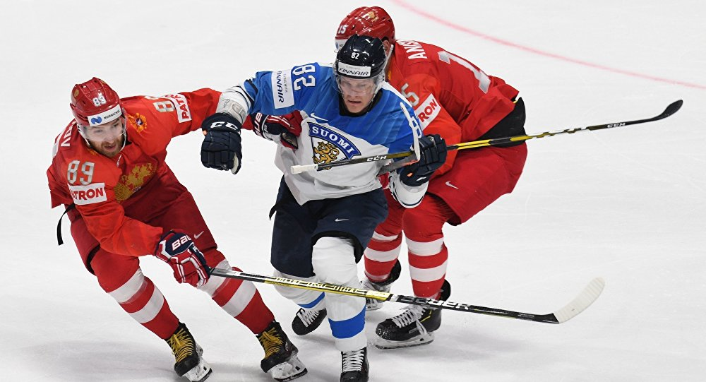 Russia-Finland hockey