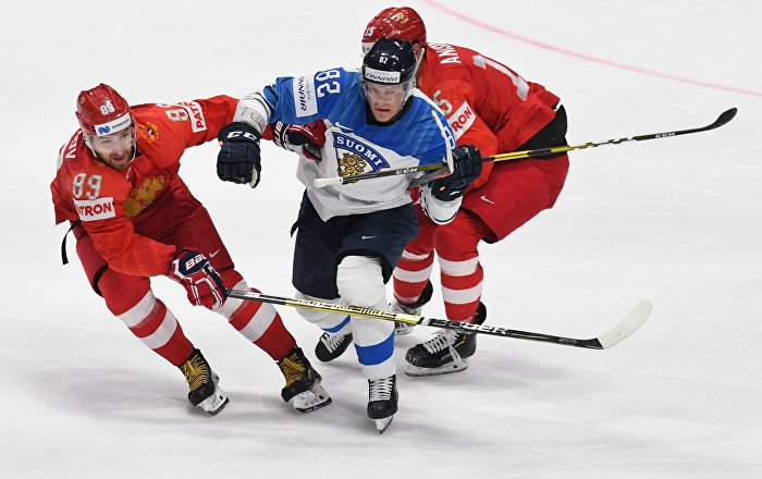Finland Beats Russia 1-0 in Semifinals at 2019 Ice Hockey World Championship
