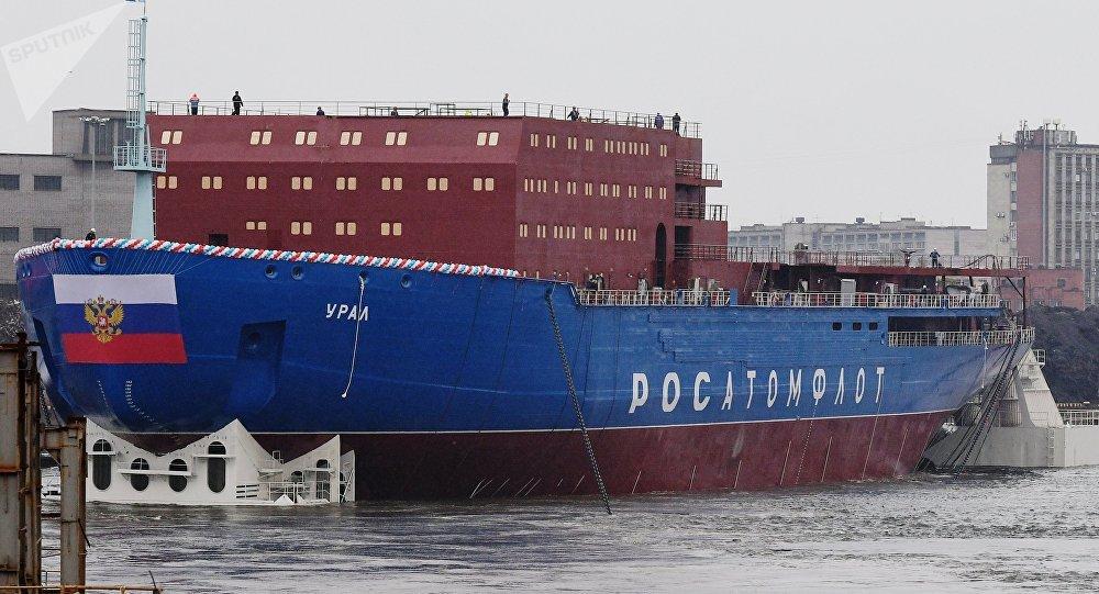 Russia's Ural icebreaker