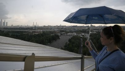The Luzhniki Stadium's Observation Deck