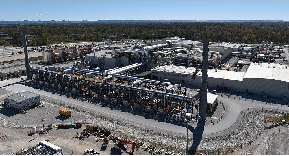 Aerial view of the Blue Grass Chemical Agent-Destruction Pilot Plant