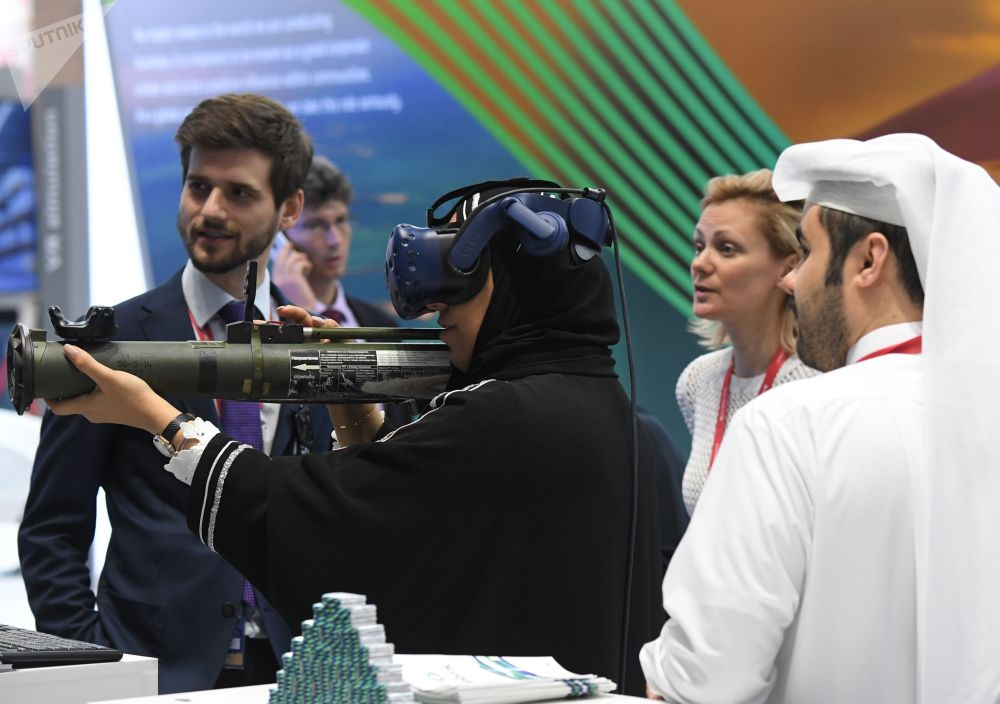 Beautiful Ladies and New Technologies at SPIEF 2019