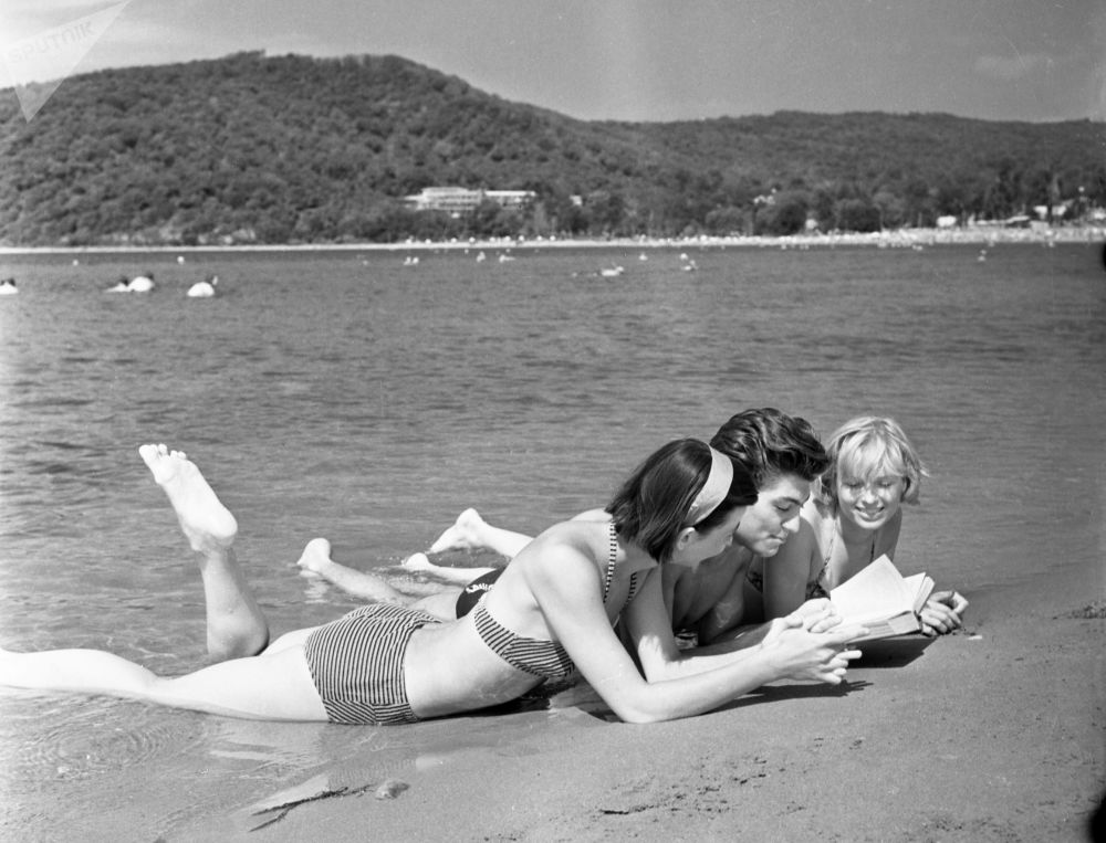 Beaches, Sunshine & Swimsuit-Clad Girls: What Soviet-Era Vacation Looked Like