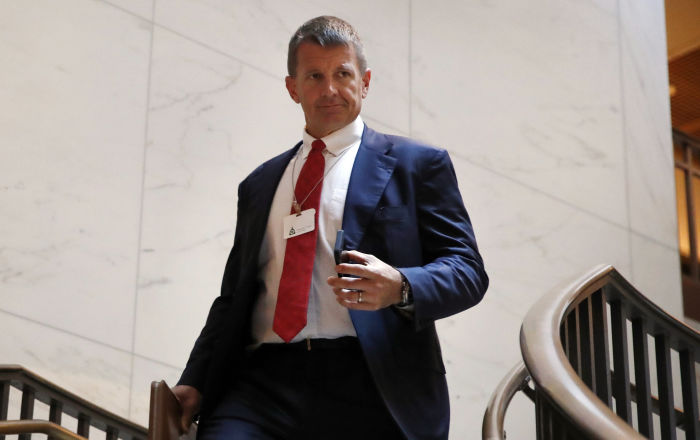 Erik Prince Enlisted Ex-Spies to Undermine Groups 'Considered Hostile' to President Trump - Report