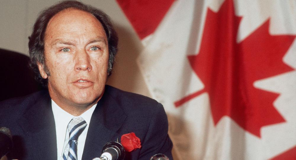 Canadian Prime Minister Pierre Elliott Trudeau