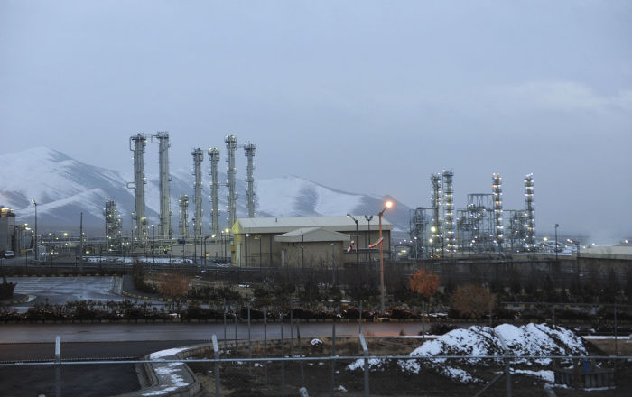 Heavy water nuclear facility near Arak, Iran