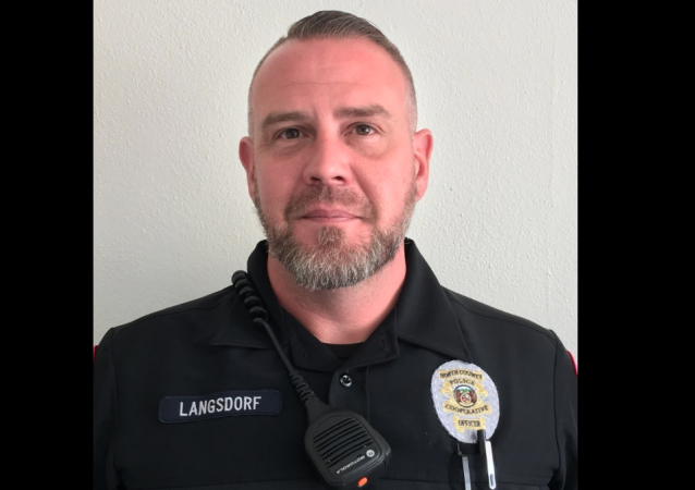 NCPC Police Officer Michael Langsdorf, DSN 347, shot and killed in the line of duty