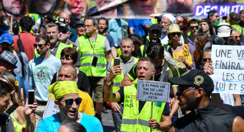 Yellow Vests' Protest
