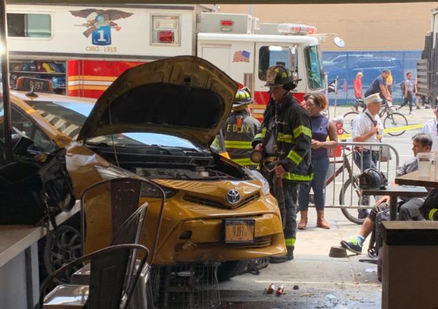 Crash in Manhattan