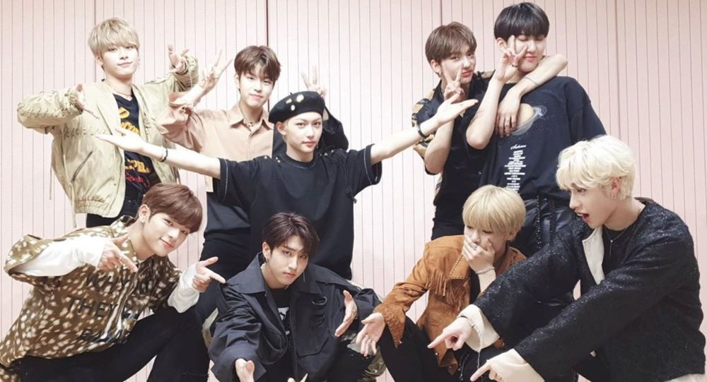 Stray Kids k-pop boys band receives Rookie of the Year award