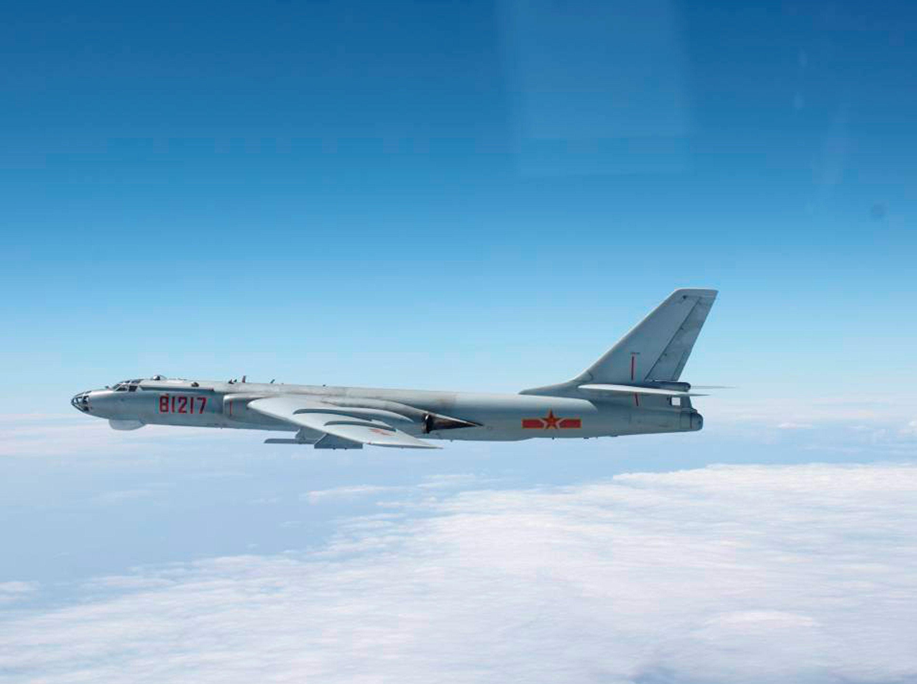 PLA Air Force Xian H-6 Bomber