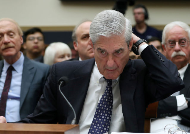 Former Special Counsel Robert Mueller testifies before a House Judiciary Committee hearing on the Office of Special Counsel's investigation into Russian Interference in the 2016 Presidential Election on Capitol Hill in Washington, U.S., July 24, 2019