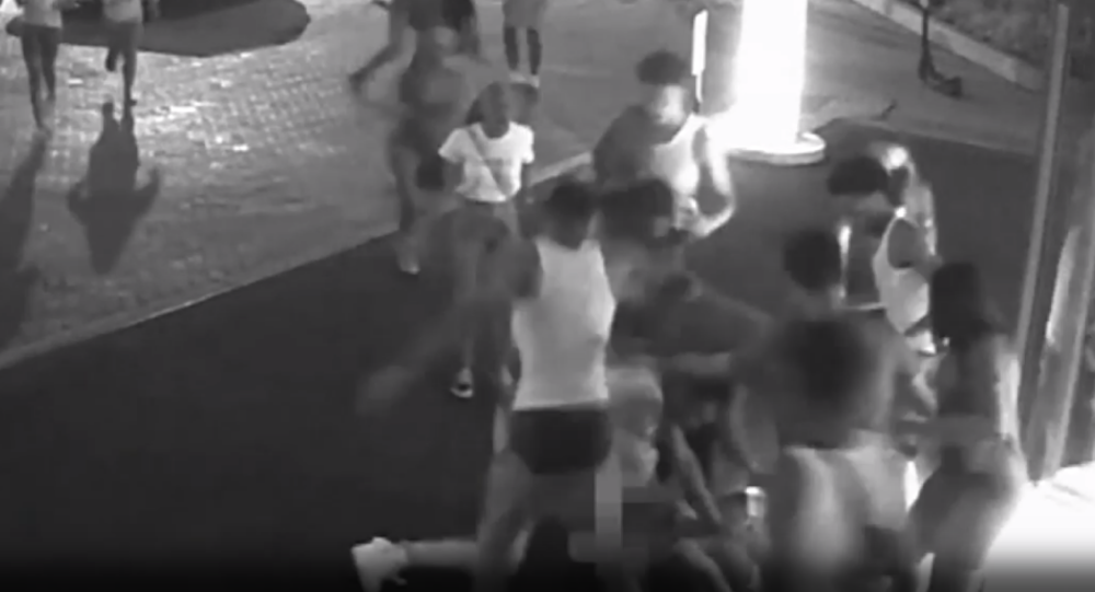 Police Search For Teens Who Beat Adults Outside DC Hotel (Video)