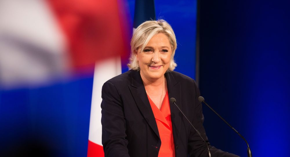 Marine Le Pen Defends Muslims From Liberal Macron's Interior Minister