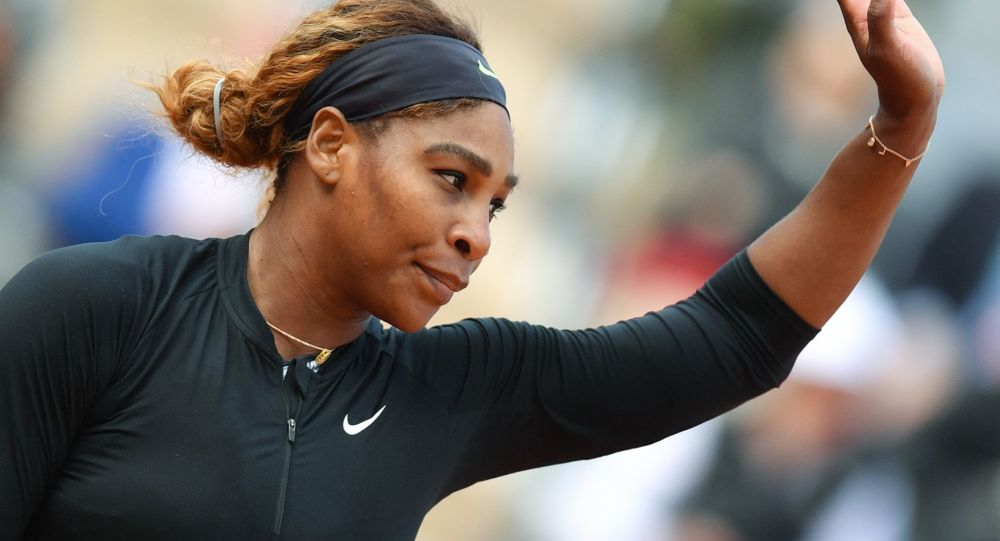 Serena Williams at France Tennis French Open
