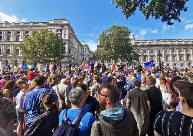 'Stop The Coup, Defend Democracy' protest in London