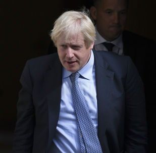 Britain's Prime Minister Boris Johnson leaves 10 Downing Street, London, for the House of Commons to attend the weekly Prime Minister's question time, 4 September 2019
