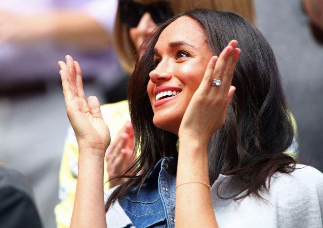 Meghan, Duchess of Sussex, attends the Women's Singles final match between Serena Williams of the United States and Bianca Andreescu of Canada on day thirteen of the 2019 US Open at the USTA Billie Jean King National Tennis Center on September 07, 2019 in the Queens borough of New York City.