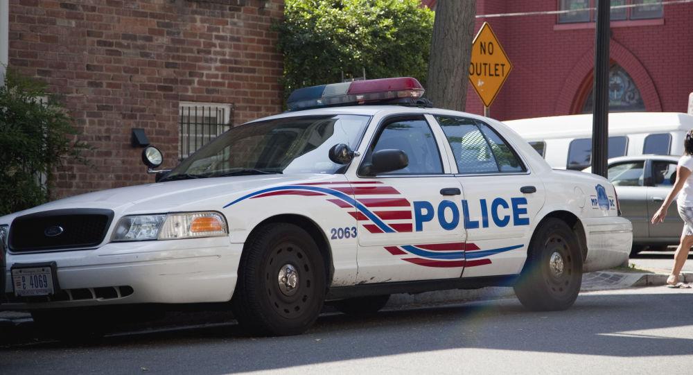 Washington, D.C. Police Car