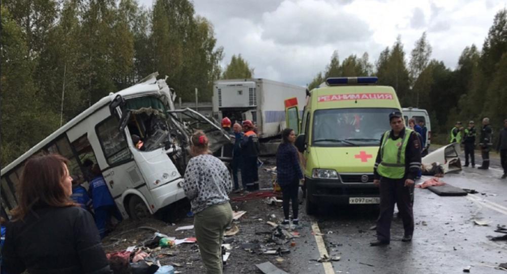 Road accident in Yaroslavl Region