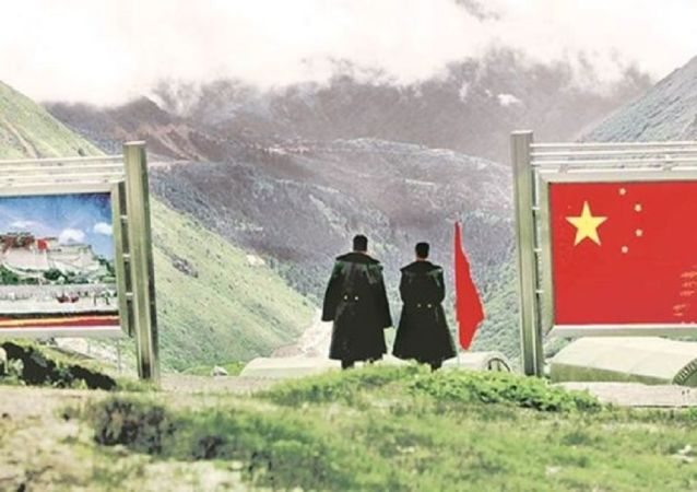 India-China Sikkim border