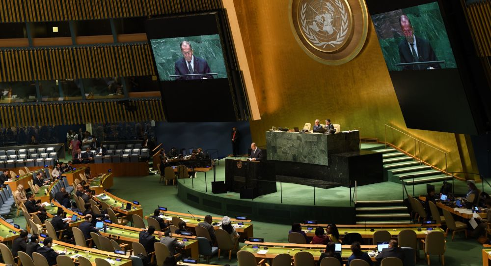Russia is submitting to the UN General Assembly a draft resolution on strengthening the arms control system, Russian Foreign Minister Sergey Lavrov said on the sidelines of the UN General Assembly in New York.