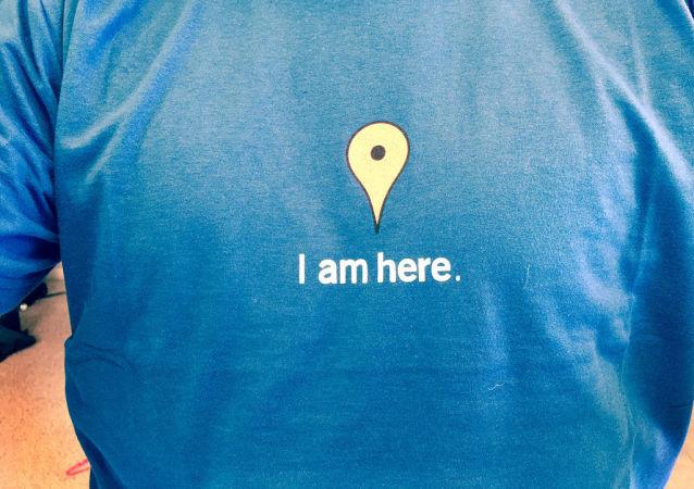 T-shirt Google Maps