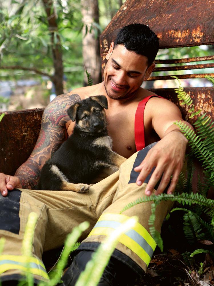 Super Hot: Australian Firemen Get Undressed for Steamy Calendar
