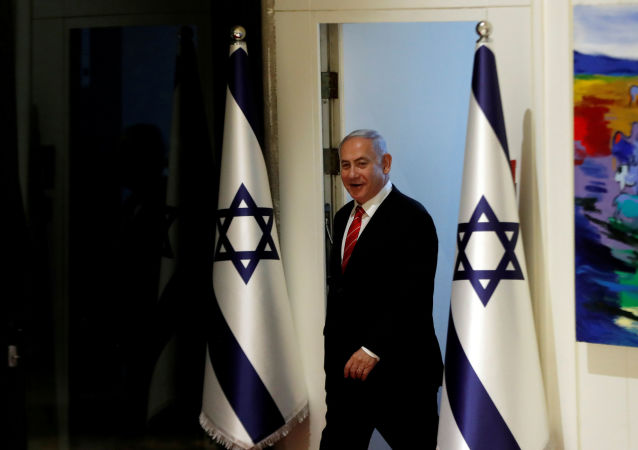 Israeli Prime Minister Benjamin Netanyahu arrives to a nomination ceremony at the President's residency in Jerusalem September 25, 2019