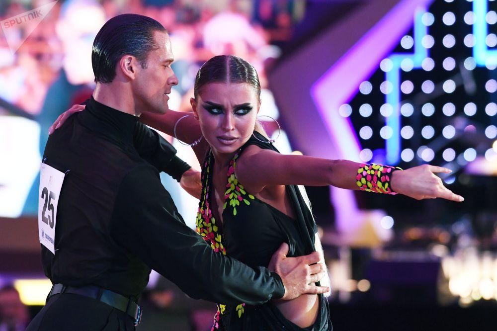 The World Latin Dance Cup in Kremlin