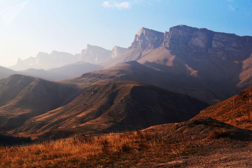 The Inalsyrt plateau in Kabardino-Balkaria