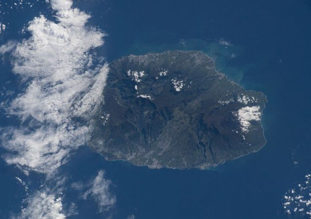 Reunion Island, a French region off the coast of Madagasca