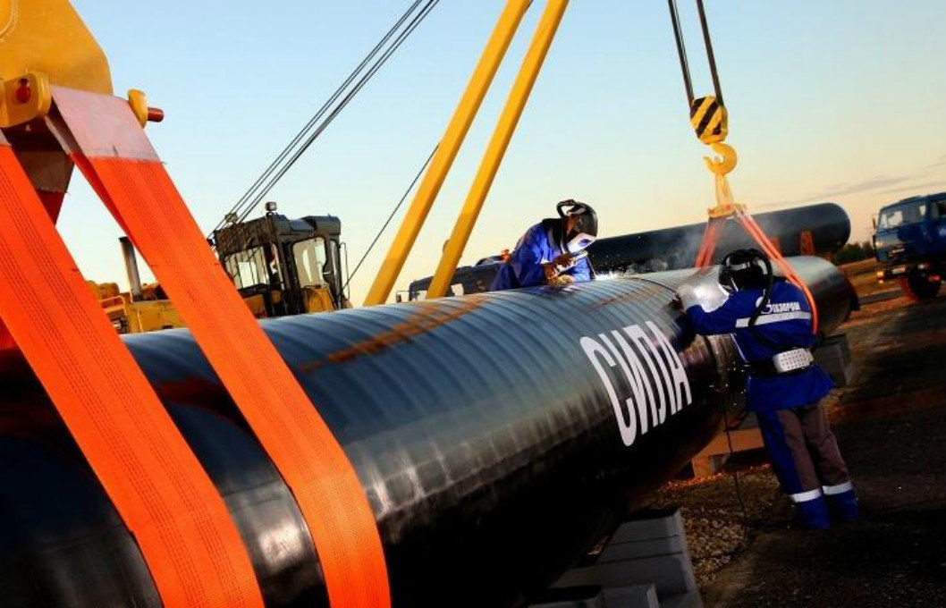 China Construction of Power of Siberia gas pipeline extension on its territory