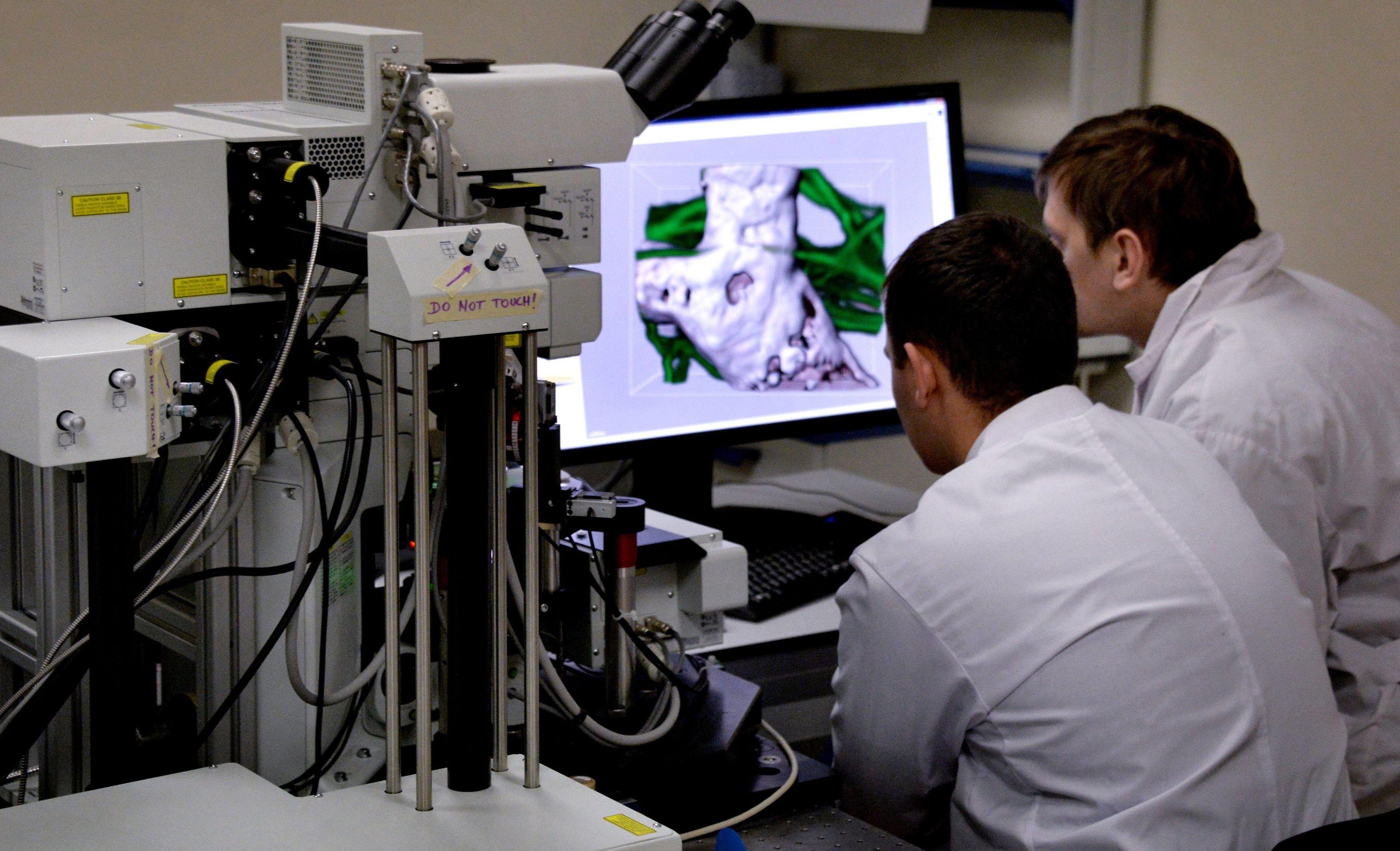 Laboratory of biomedical technologies. File photo