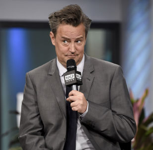 Actor Matthew Perry participates in the BUILD Speaker Series to discuss the mini-series The Kennedys After Camelot at AOL Studios on Thursday, March 30, 2017, in New York