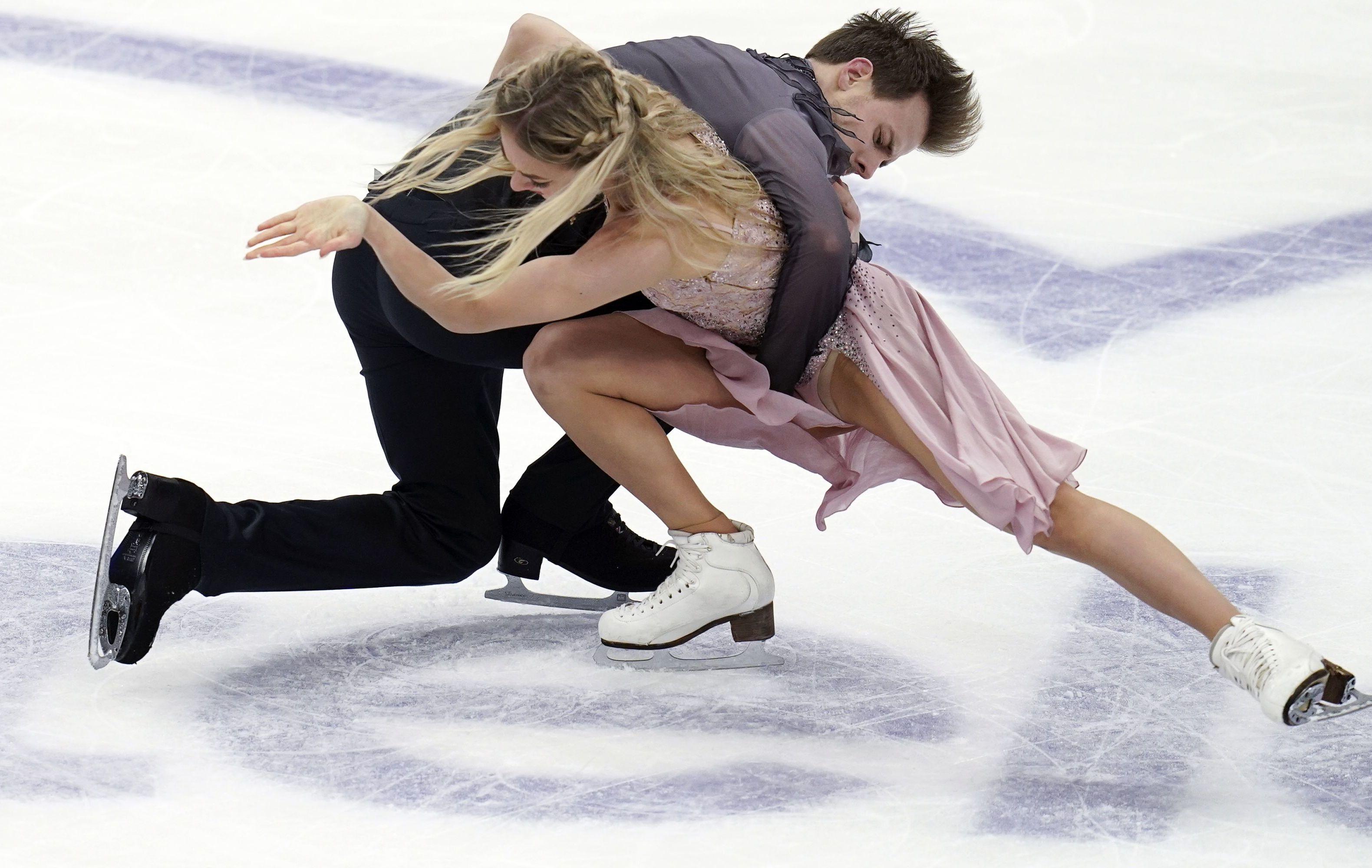 Victoria Sinitsina and Nikita Katsalapov in Moscow