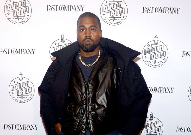 Kanye West attends the Fast Company Innovation Festival - Day 3 Arrivals on November 07, 2019 in New York City