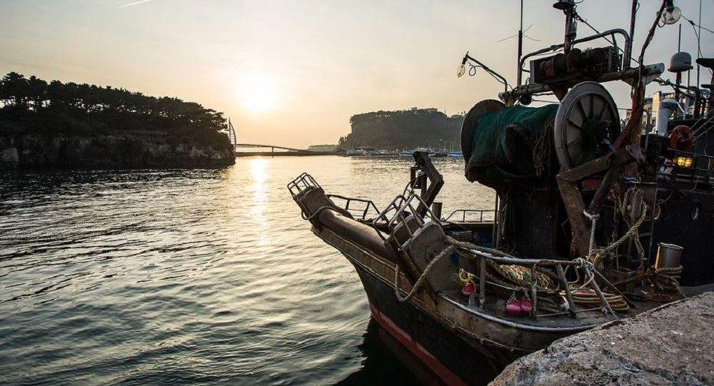 Jeju Island boat
