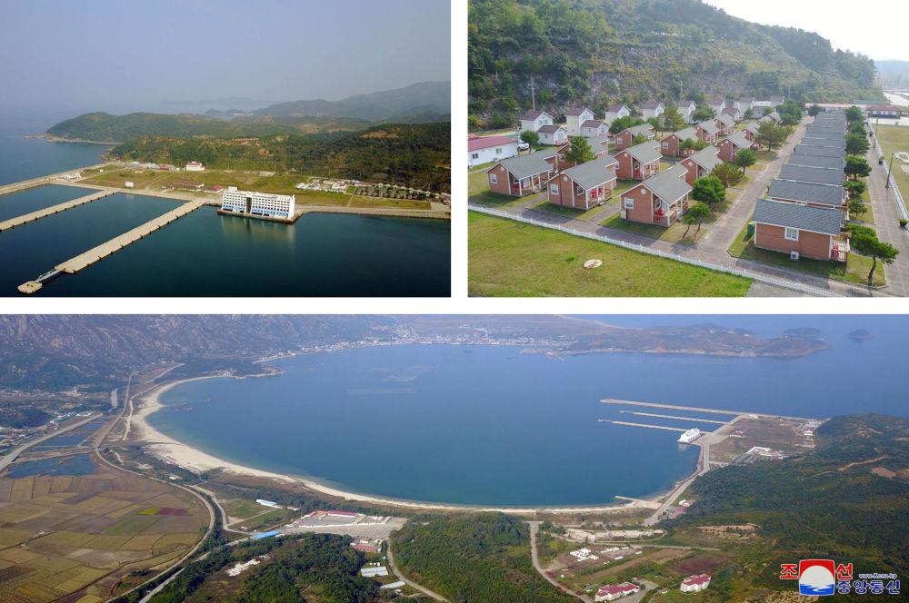 The Mount Kumgang tourist resort area in North Korea