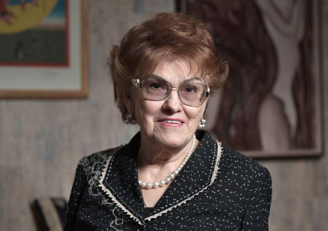 Saint Petersburg State University president, Ludmila Verbitskaya.
