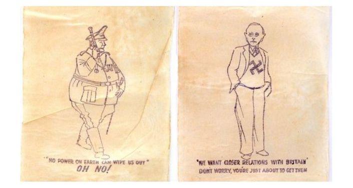 Nazi-themed toilet paper