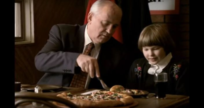 Pizza Hut Gorbachev TV Spot Commercial :60 International version