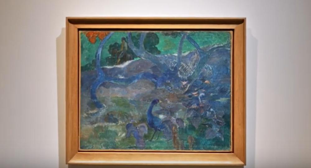 Te Bourao II painting