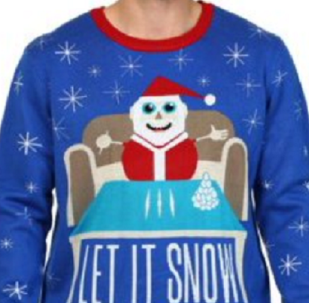 Walmart Removes Christmas Sweater Featuring Santa With Cocaine